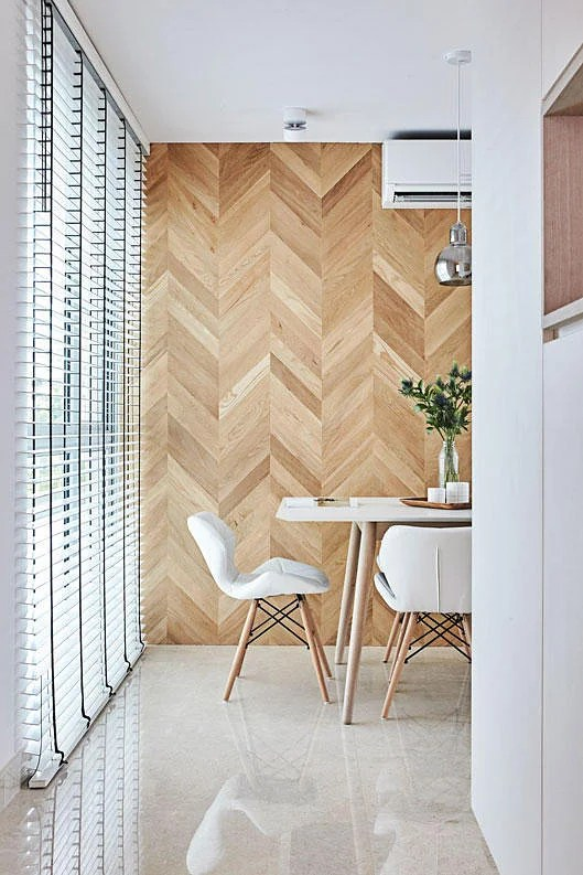 Wooden Feature Walls That Can Create Focal Point In Your
