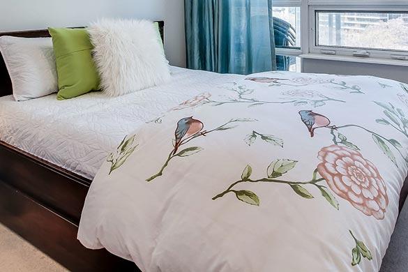 Interior design ideas for bedding