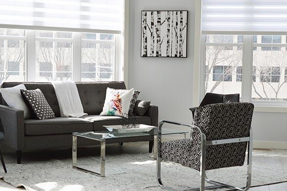 Interior design ideas window treatment