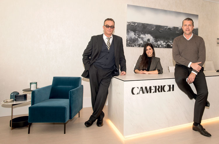 Camerich - creating contemporary, fresh, elegant and comfortable interiors