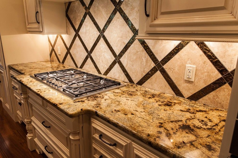 Lapidus Granite For A Transitional Kitchen With