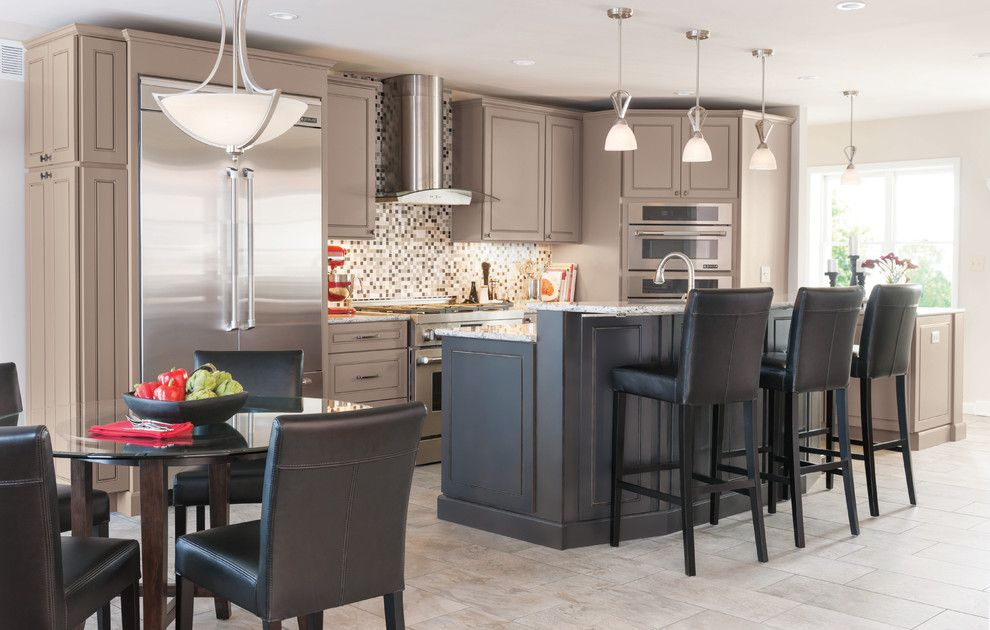 Masterbrand Cabinets For A Modern Kitchen With And Painted