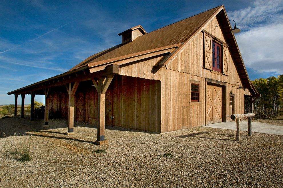 porter barn wood for a traditional shed