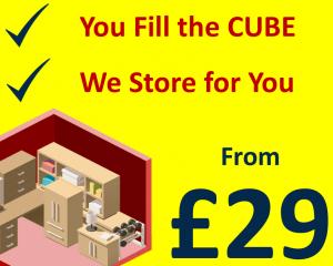 New Self Storage Cube £29