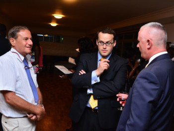 E. Avy New Comex Trading, Chris Maskell – Director UKTI, Brian Greenaway – Director, Technical Operations UPDC