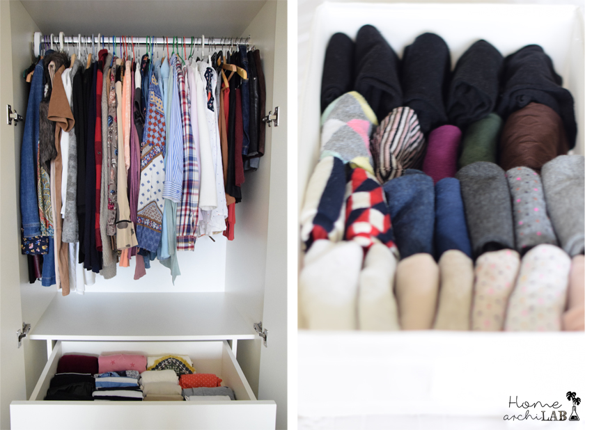 ORGANISE CLOSETS WITH MARIE KONDO'S BOOK