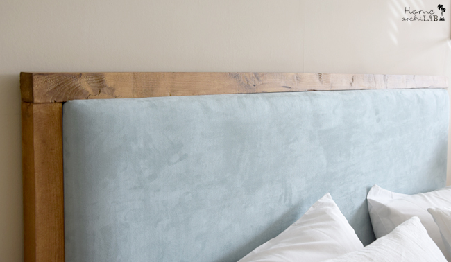 cabecero tapizado transformado con diy cmo tapizar un cabecero idea de cabecero original y barata