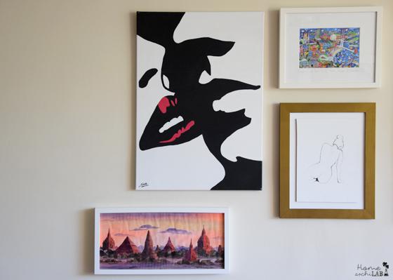 composición de cuadros