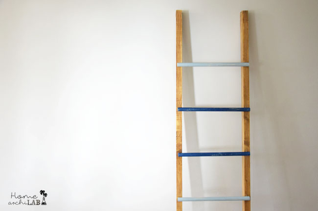 DECORATIVE LADDER DIY FOR MY BEDROOM 10 Easy Steps to Build a Decorative Ladder Rack