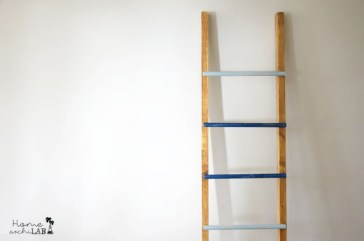 ESCALERA PERCHERO DIY