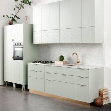 Green kitchen super front