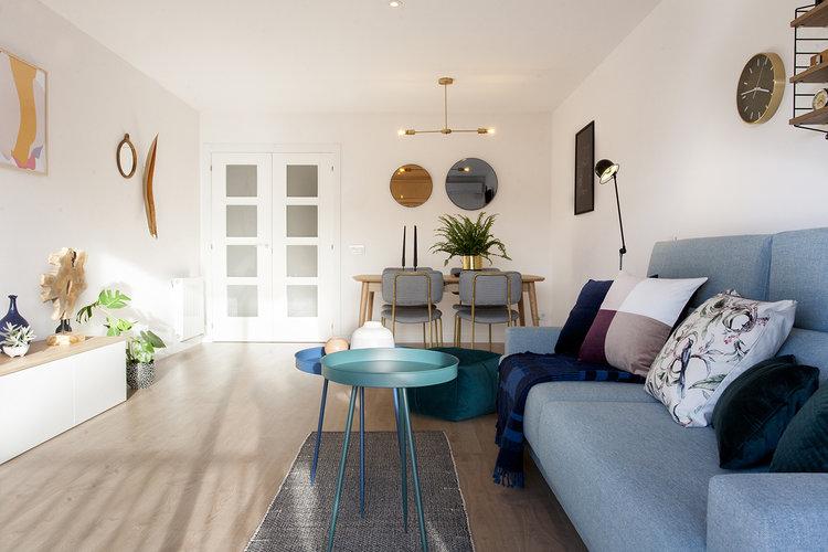 HOUSE TOUR EL GIRO MOLON Un proyecto de diseño de interiores de Le Sable Indigo Interiors