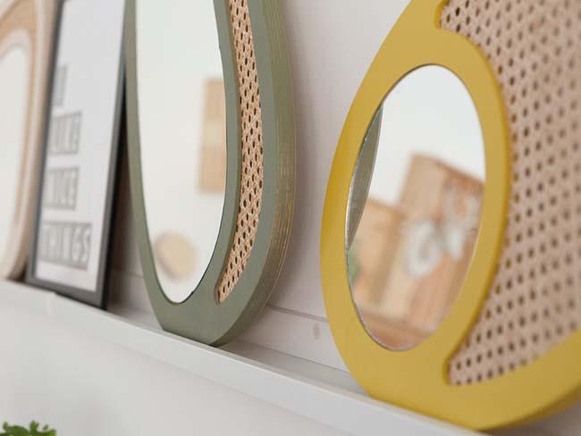 DECO TENDENCIA: MUEBLES DE REJILLA O CANNAGE Ideas para incorporar los muebles de rejilla de forma novedosa y original