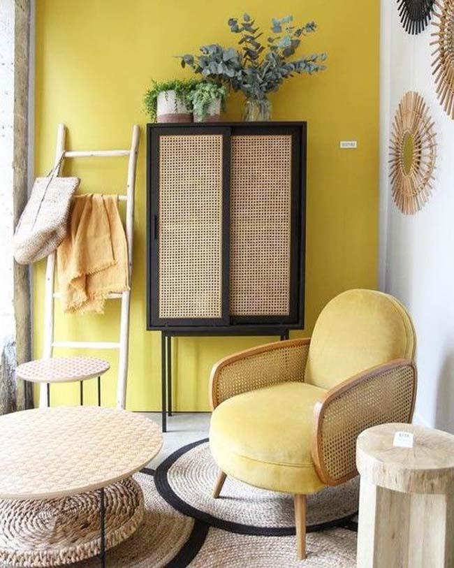 muebles de rejilla o cannage
