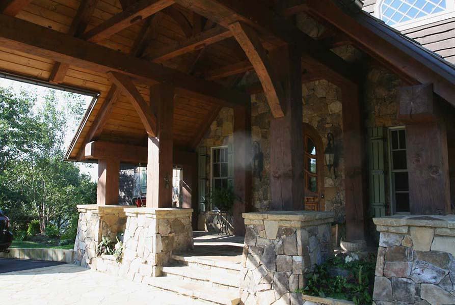 17 Perfect Images Front Porch Overhang Designs - Home ... on Backyard Overhang Ideas  id=63289