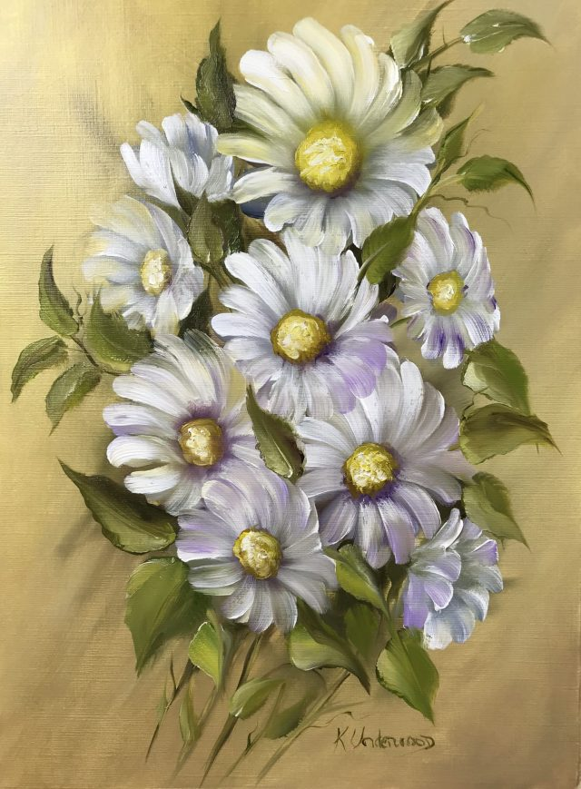 Daisy Bouquet (Oils)