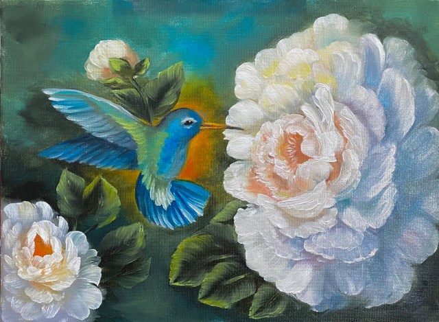 First Sip of Spring – Oil Painting Tutorial