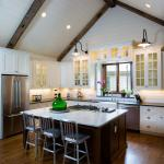 35 Kitchens With Vaulted Ceilings Photo Gallery Home Awakening