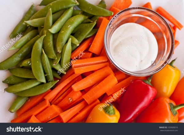Platter of vegetables - income report