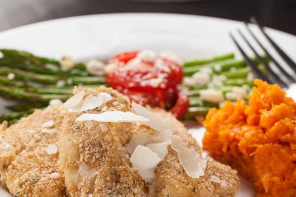Parmesan Crusted Chicken Tenders
