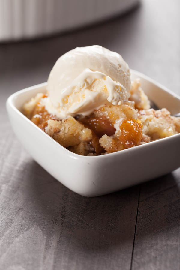 The World's Best Peach Crisp Recipe #homebakedjoy