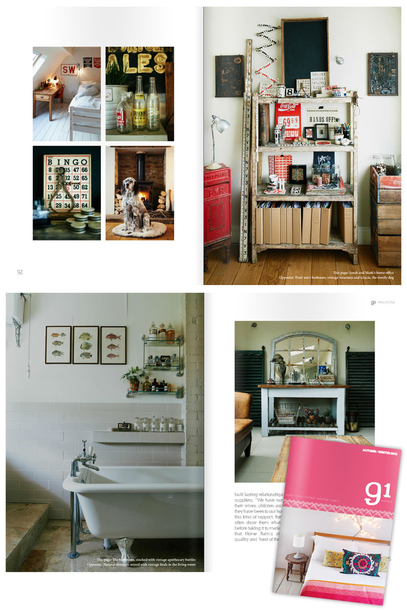 homebarn shop featured in 91 magazine