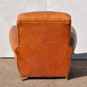 Antique-French-Leather-Club-Arm-Chair---Loire-4