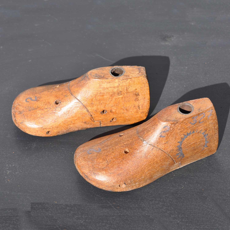 Cobbler Shoe Mould, Wooden Baby's Shoe Last