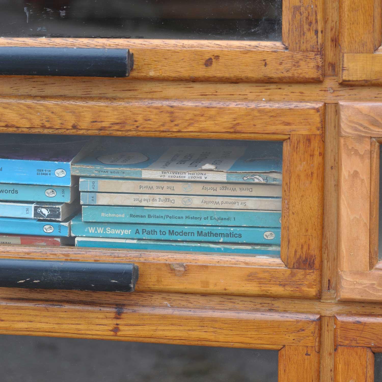 Vintage Oak Haberdashery Cabinet Shop Display - Home Barn Vintage