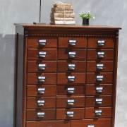 Multi-drawer-Dark-Wood-Filing-Cabinet-2