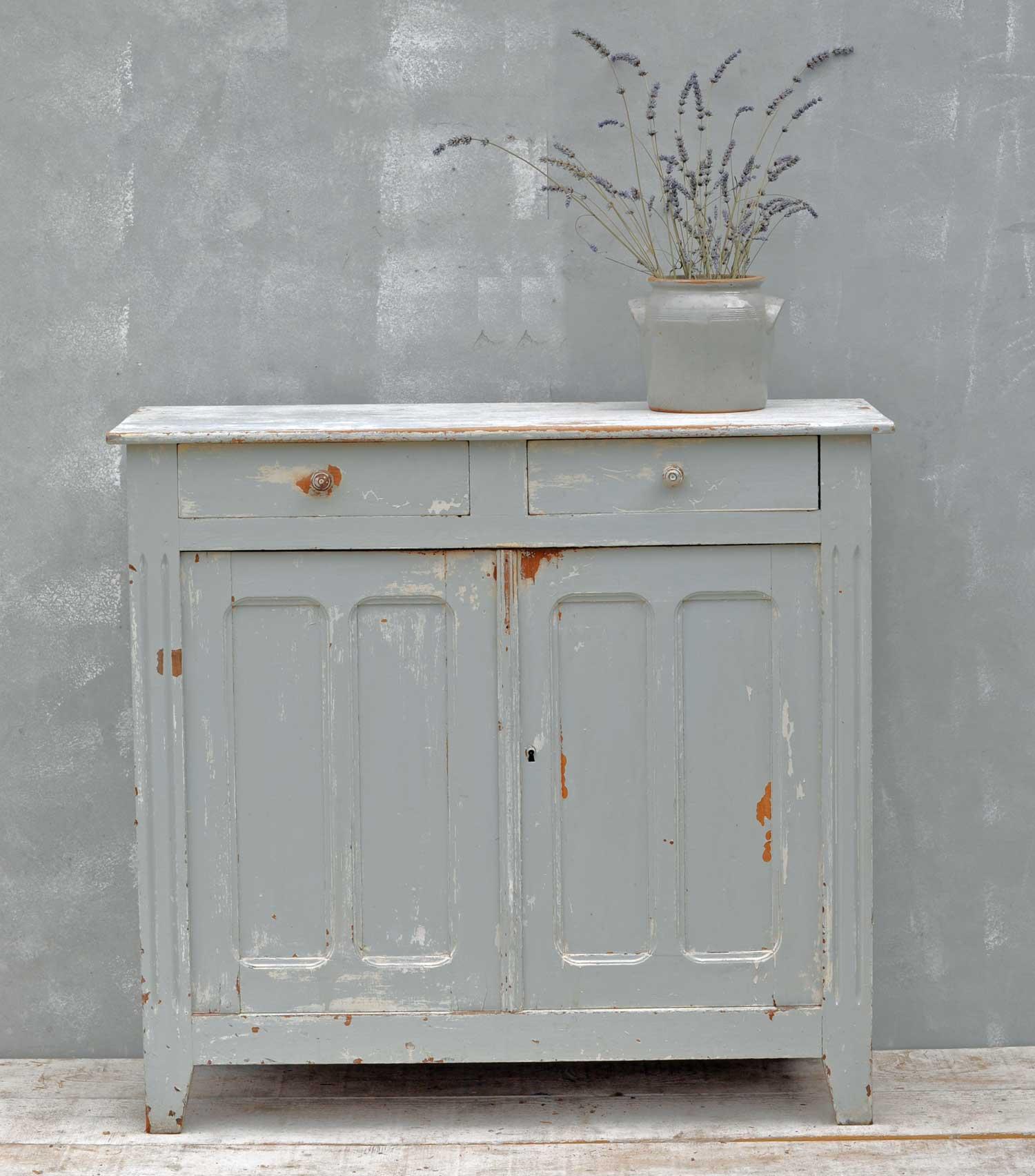 Antique Original Paintwork Sideboard Dresser Base
