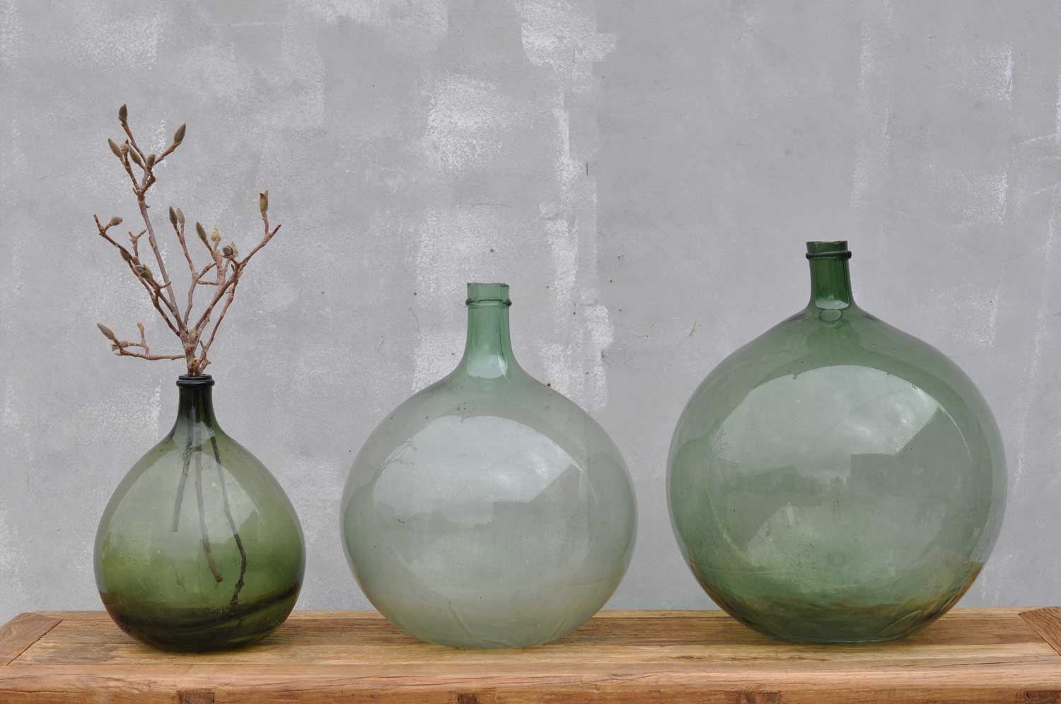 French Demijohn Carboy Wine Vessel Vase