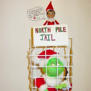 elf on the shelf saves christmas from grinch