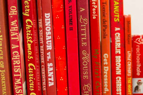 red holiday books