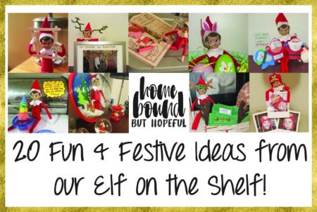 20 of our Elf on the Shelf's Antics From Years Past