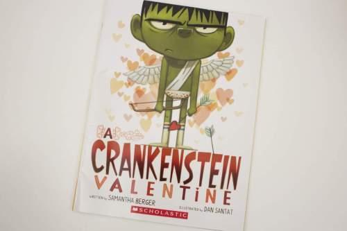 a crankenstein valentine book cover