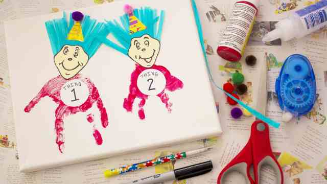 Happy Birthday Dr. Seuss! Celebrate With A Craft