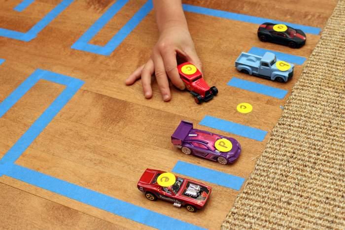 101 WAYS TO TEACH THE ALPHABET CARS
