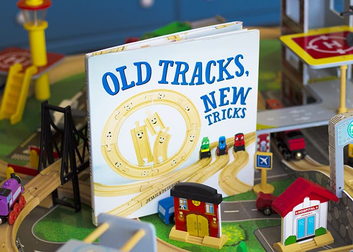 OLD TRACKS, NEW TRICKS BOOK AND TRAINS