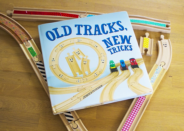 OLD TRACKS, NEW TRICKS BOOK AND TRACKS