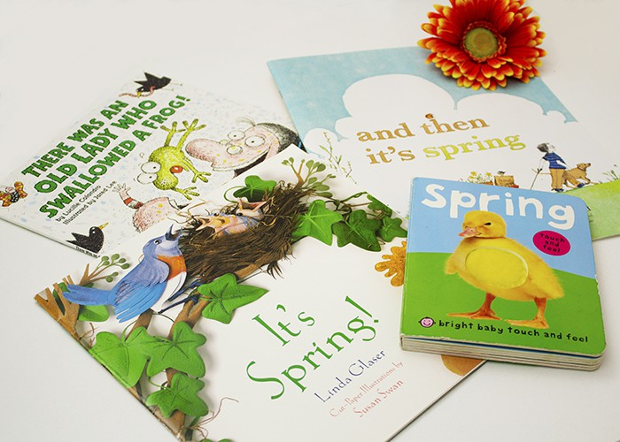 BOOKS TO WELCOME SPRING