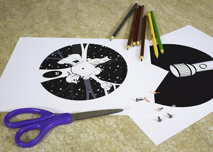 Night Animals Craft