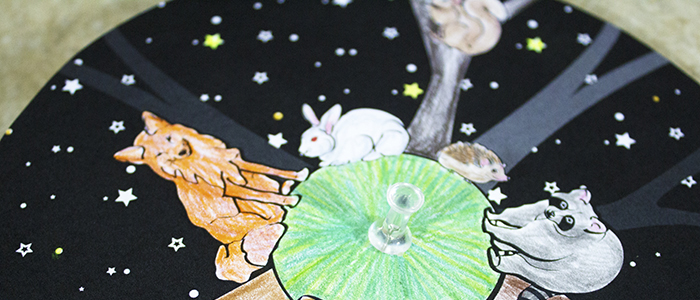Camping Storytime with a 'Night Animals' Inspired Craft