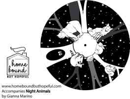 Night Animals Printable