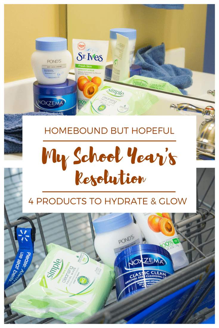 Even Mamas need a fresh start in the fall, so I'm sharing my School Year's Resolution to help my skin #HydrateAndGlow... Be sure to see which products are helping me with my goal! #ad