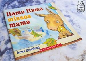 Back To School Book List- Llama Llama Misses Mama