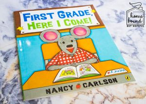 Back To School Book List- First Grade, Here I Come!