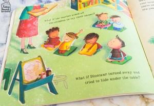 Back To School Book List- Dinosaur Starts School