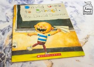Back To School Book List- David Goes to School.