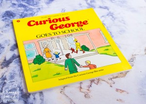 Back To School Book List- Curious George Goes To School